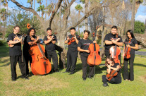 Viol Consort Outdoors