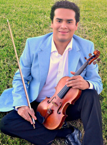 Alfonso Atkinson - Coordinator (east side of the RGV) -  Violin and Viola. With a long list of a standar and virtuoso repertoire for violin on his back, Mr Atkinson has performed on any kind of ensembles and his texture on his sound, molds perfectly from a subtle accompaniment to a vibrant melody on the high registry of the violin.